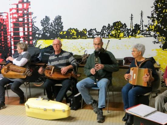 musiciens du Folk club
